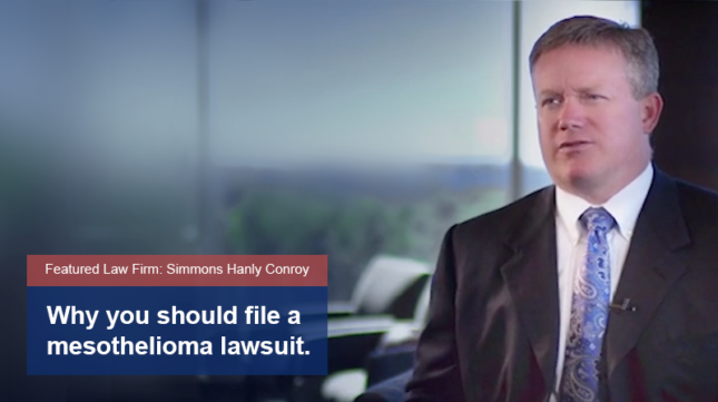 Why Should I File a Mesothelioma Lawsuit? Video Thumbnail